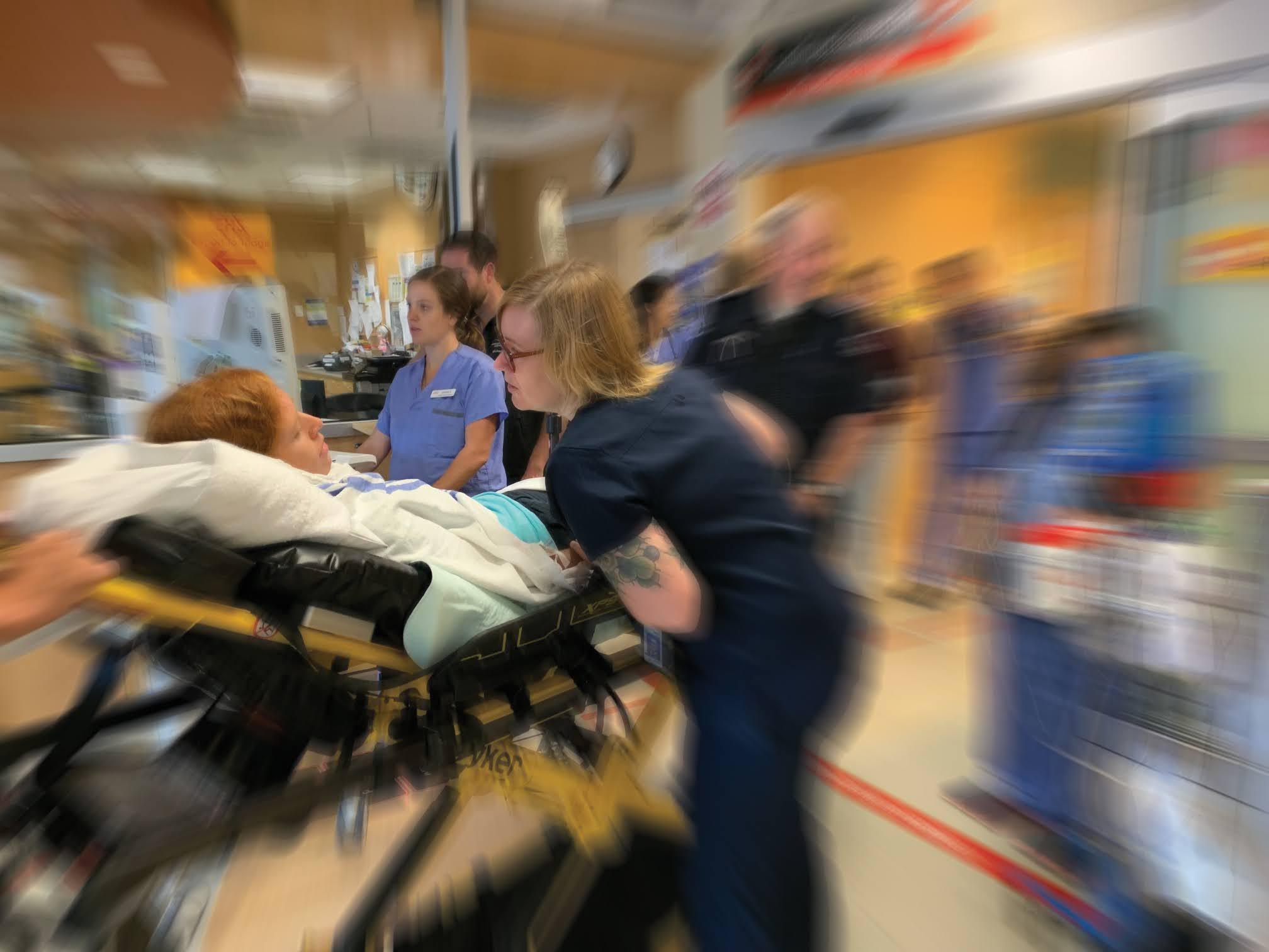 Stroke Simulation Training Lions Gate Hospital